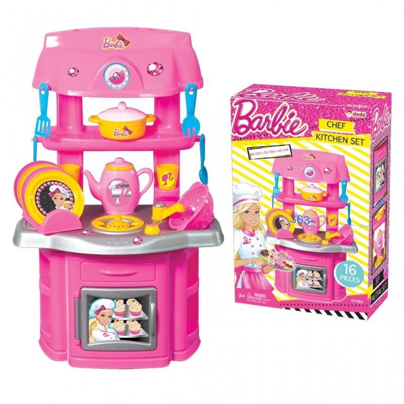 Kuchnia Barbie 16 Elementow 01503