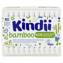KINDII PATYCZKI BAMBOO HIG.60SZT