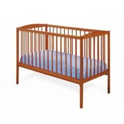 Kuba II teak - łóżeczko 120x60